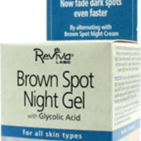 Brown Spot Gel with Glycolic Acid 1.25 oz, Reviva