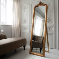 Glorious Gilt French Mirror