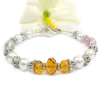 Mothers Birthstone Bracelet: Special Gift For Mom