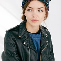 Animal Ears Cable-Knit Beanie - Urban Outfitters
