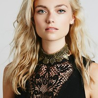 Free People Cleopatra Metal Choker