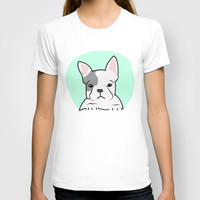 Frenchie T-shirt by Pati Designs | Society6