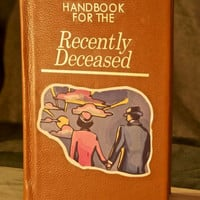 Beetlejuice Handbook for the Recently Deceased Travel iPad / Tablet & eReader Cover