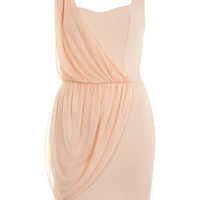 Drape Detail Dress - Dresses  - Apparel  - Miss Selfridge US