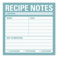 Recipe Sticky Notes - Whimsical & Unique Gift Ideas for the Coolest Gift Givers