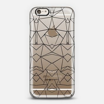Abstract Mirrored Transparent iPhone 6 case by Project M | Casetify