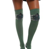 Harry Potter Slytherin Over-The-Knee Socks