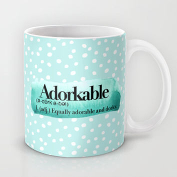 Adorkable Mug by Sara Eshak