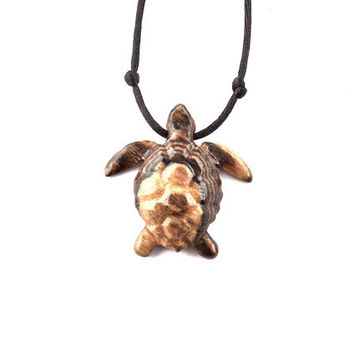 Turtle Necklace, Turtle Pendant, Men Turtle Necklace, Mens Turtle Pendant, Mens Necklace, Men…
