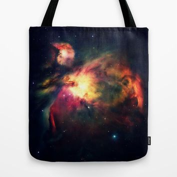 Orion Nebula Hauntingly Beautiful Tote Bag by 2sweet4words Designs | Society6