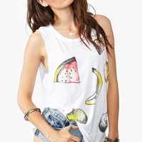 Juicy Fruit Muscle Tee