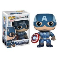 Funko POP Heroes: Captain America Movie 2 - Captain America Action Figure