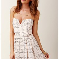 Myne - Chandler Strapless Dress