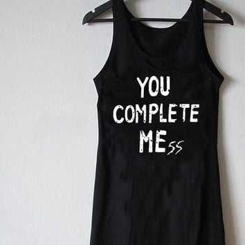 you complete mess 5 second of summer luke hemmings for Tank Top Mens and Tank top Girls