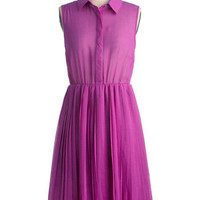 Do As You Pleats Dress | Mod Retro Vintage Dresses | ModCloth.com