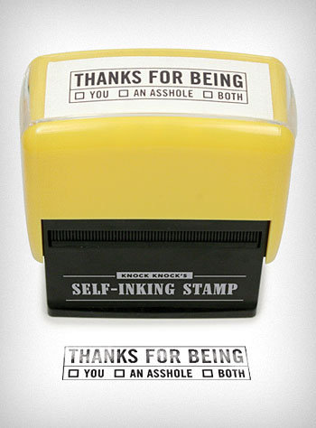 Thanks For Being Self Inking Stamp