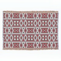 Trendy Ethnic American Indian Tribe Mosaic Pattern