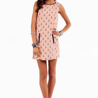 Give It a Tri Tank Dress in Blush :: tobi
