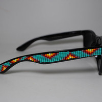 Native Sun beaded sunglasses
