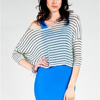 Klondike Stripes Top | Shop Audrey 3+1 Apparel