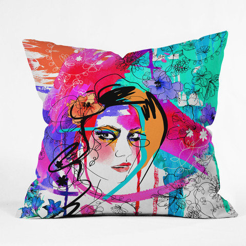 DENY Designs Home Accessories | Holly Sharpe Passion Throw Pillow