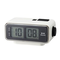 Digital Flip Clock in White (Small) - Pop! Gift Boutique