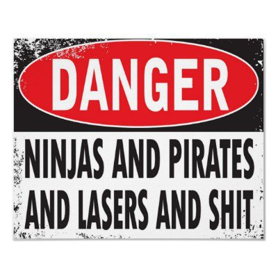 DANGER! Poster from Zazzle.com