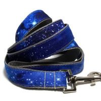 Blue Galaxy Dog Leash » Craftori