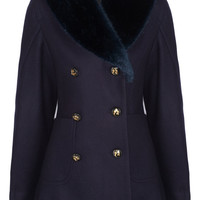 Vivienne Westwood Anglomania Soma wool-blend felt coat – 50% at THE OUTNET.COM