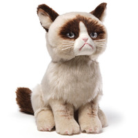 GRUMPY CAT PLUSH GUND