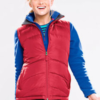 Women's Down Vest from Lands' End