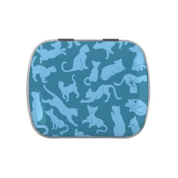 Blue Cat Pattern