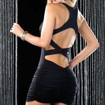 Fitted Racerback Dress