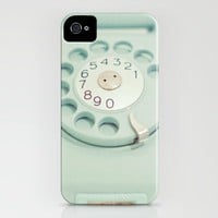 Mint Green Calls iPhone Case by JoyHey | Society6