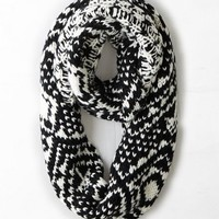 AEO Women's Geo Knit Loop Scarf
