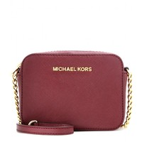 michael by michael kors - jet set leather shoulder bag