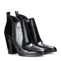 michael by michael kors - brandy leather ankle boots