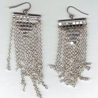 Wild Ivy Design | *NEW* Mesh and Chain earrings | Online Store Powered by Storenvy