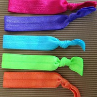 Summer Elastic Hair Ties (and Brace.. on Luulla