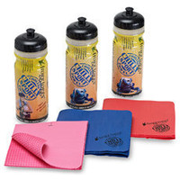 Chilly Sport® Super Cooling Towel and Sports Bottle - Bed Bath & Beyond