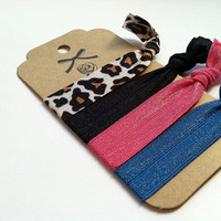 Cute Comfy Elastic Hair ties - Leaves No bump No Ridge