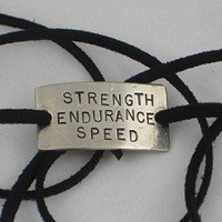 Strength Endurance Speed Wrap Bracelet