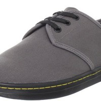 Dr. Martens Women`s Soho Shoe,Dark Grey Canvas,9 M US