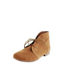 Breckelle's Sandy71 Tan Laced Up Desert Ankle Boots and Womens Fashion Clothing & Shoes - Make Me Chic