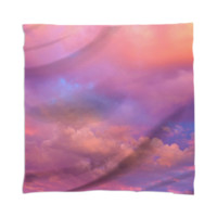 See the Dawn (Dawn Cloud Abstract) Scarf / Mini Wall Tapestry created by soaringanchordesigns | Print All Over Me