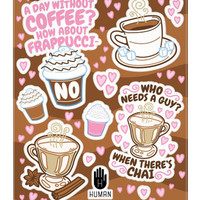 COFFEE ADDICTION STICKERS