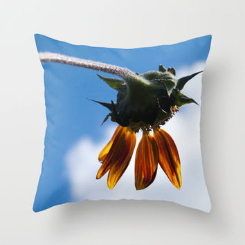 End of Summer Blues Throw Pillow by Legends of Darkness Photography