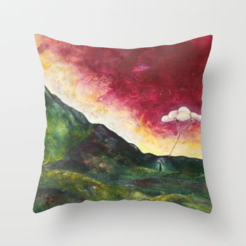 Ador de verdes Throw Pillow by Timone | Society6