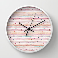 September Wall Clock by Timone | Society6