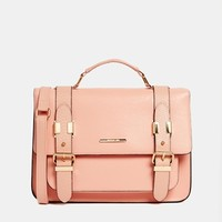 River Island Large Satchel In Pink